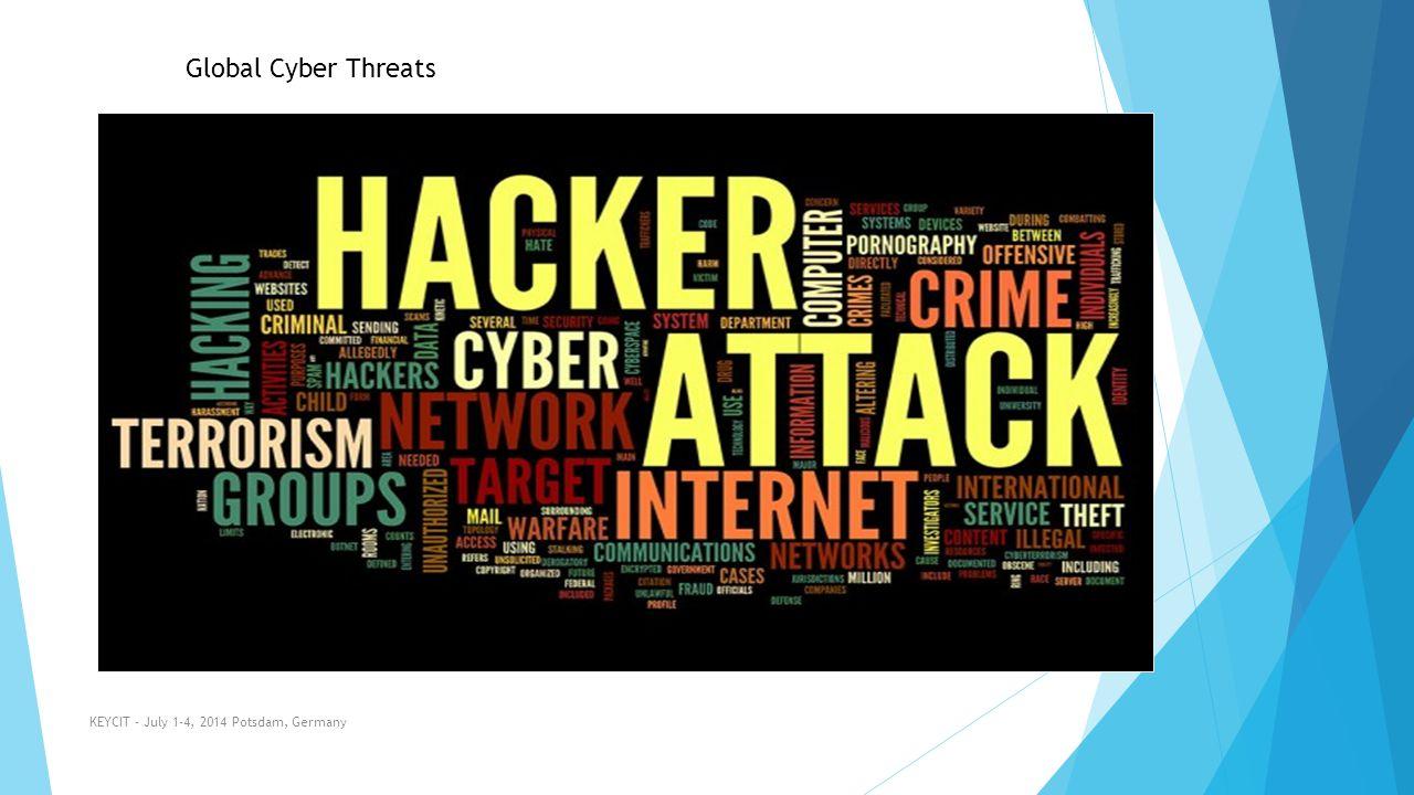 KEYCIT - July 1-4, 2014 Potsdam, Germany Global Cyber Threats
