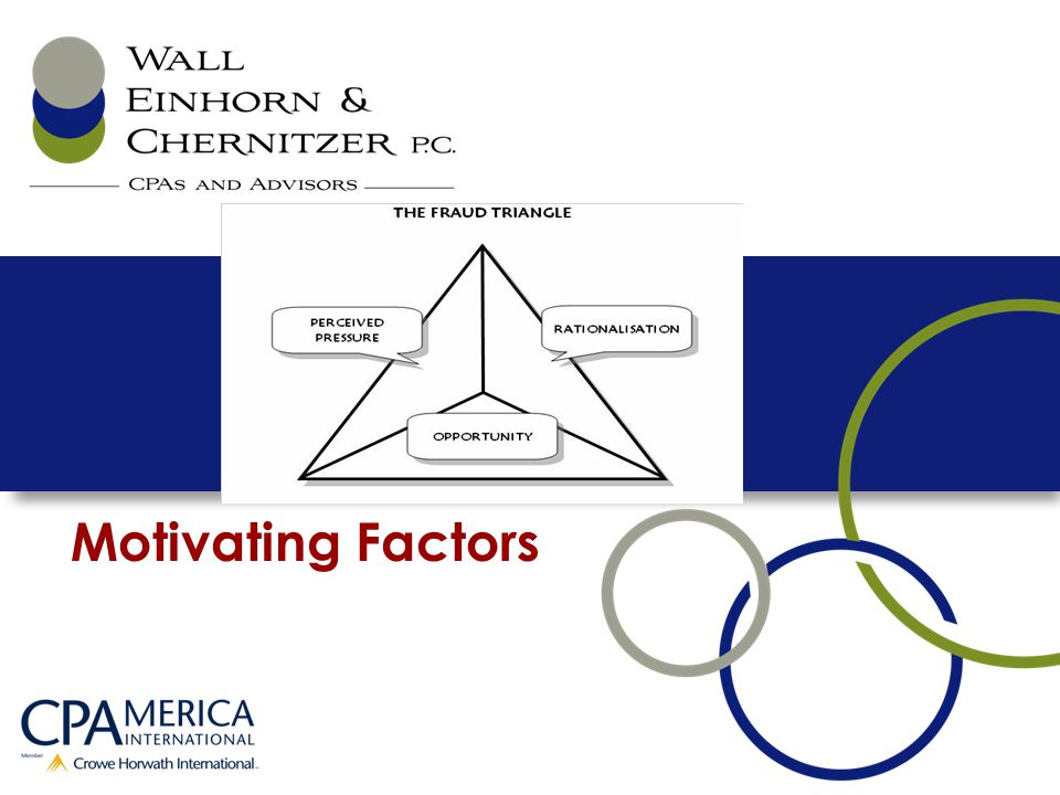 Motivating Factors 5