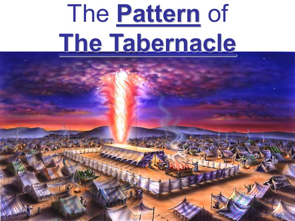 Pattern The Tabernacle The Pattern of The Tabernacle