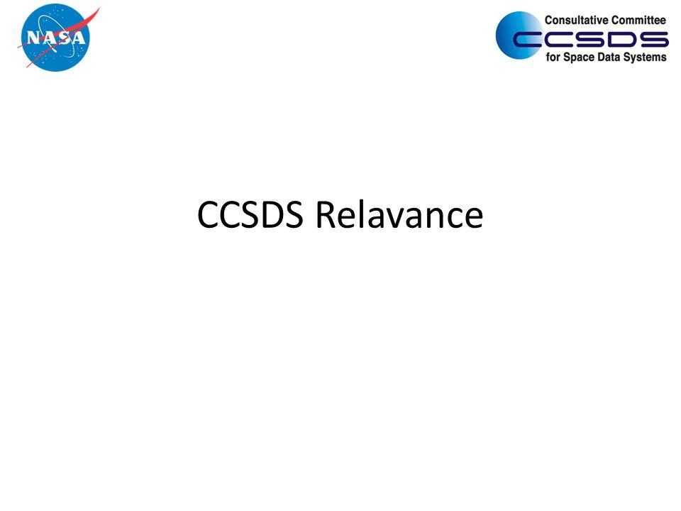 CCSDS Relavance
