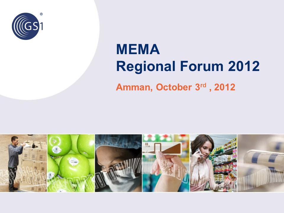 MEMA Regional Forum 2012 Amman, October 3 rd, 2012