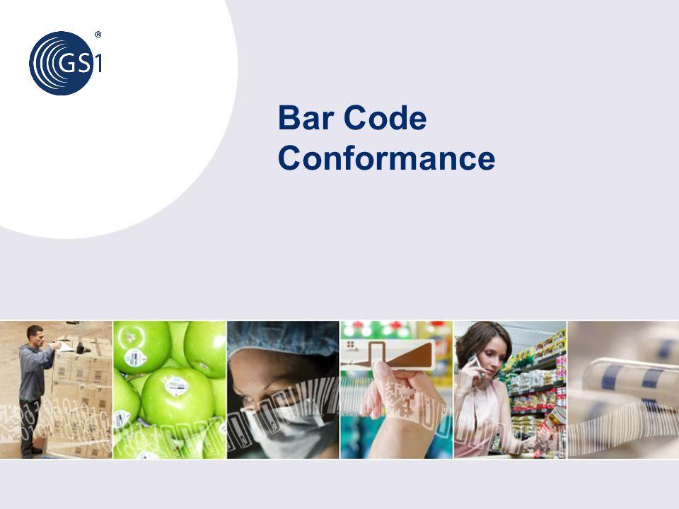 Bar Code Conformance