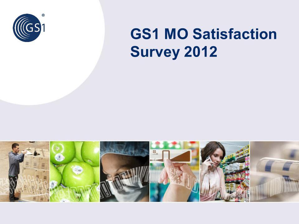 GS1 MO Satisfaction Survey 2012