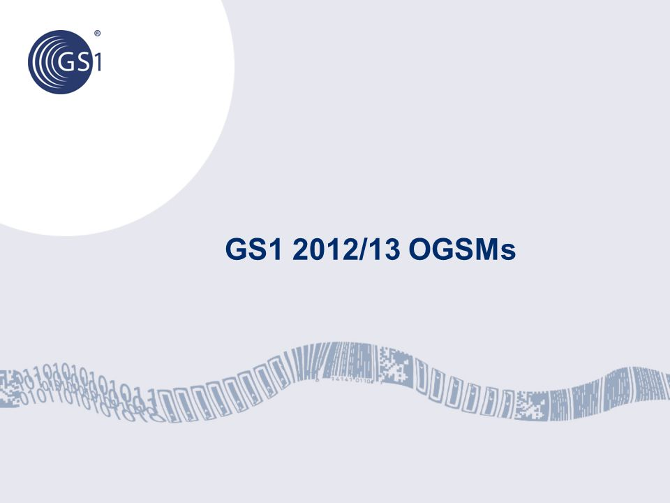 © 2012 GS1 Objectives 146 1.Optimise travel frequency and cost for GS1 MOs, GO, and GS1 Members 2.Change the perception that GS1 is meeting in remote, non-business locations 3.Increase participation in major events and meetings