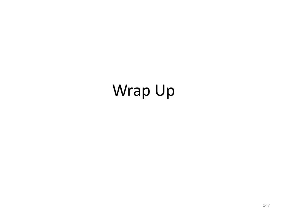 Wrap Up 147