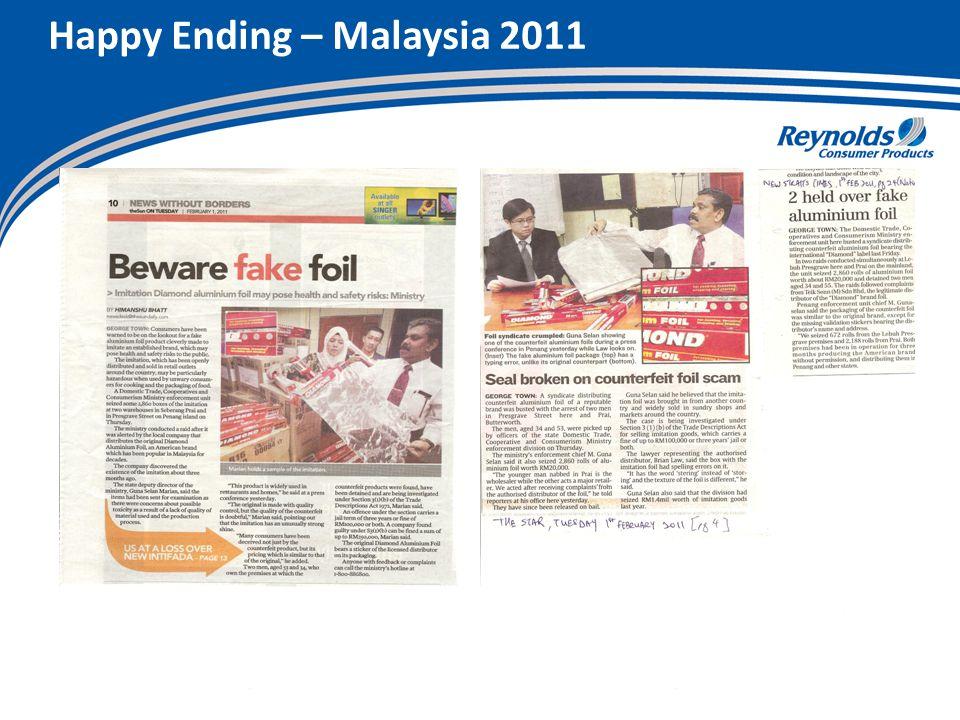 Happy Ending – Malaysia 2011