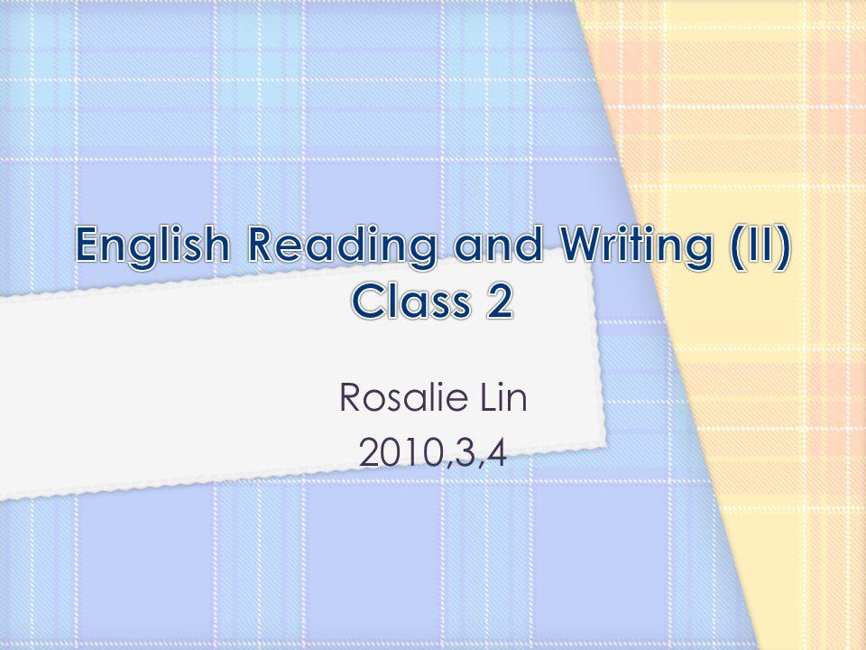 Rosalie Lin 2010,3,4