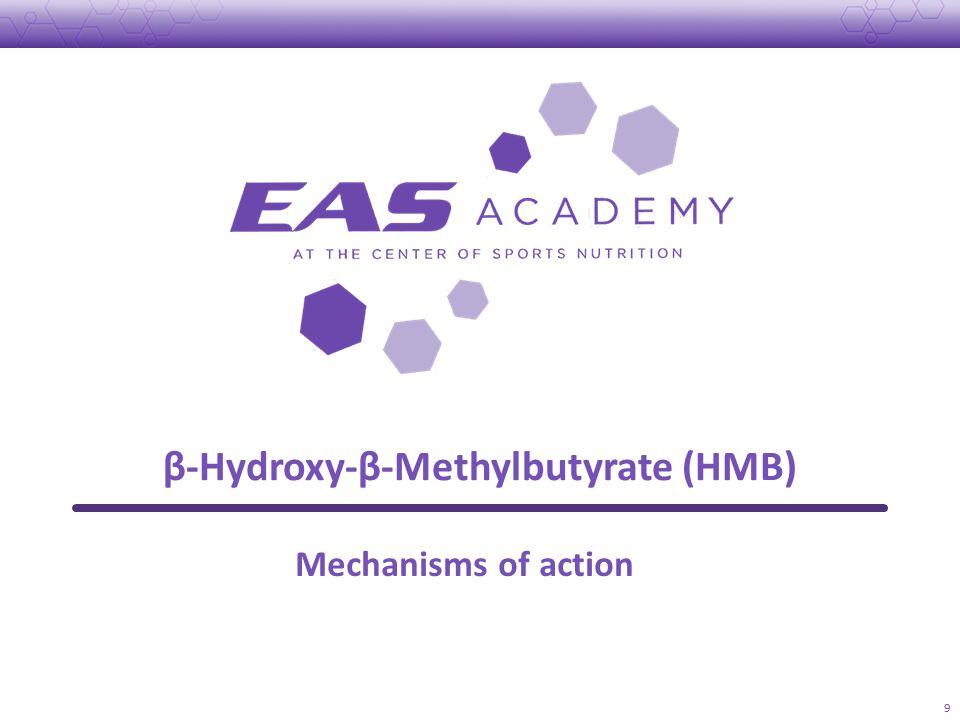 β-Hydroxy-β-Methylbutyrate (HMB) 9 Mechanisms of action
