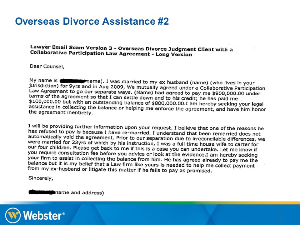 Overseas Divorce Assistance #2