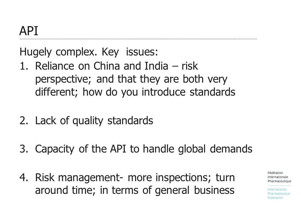 API Hugely complex.