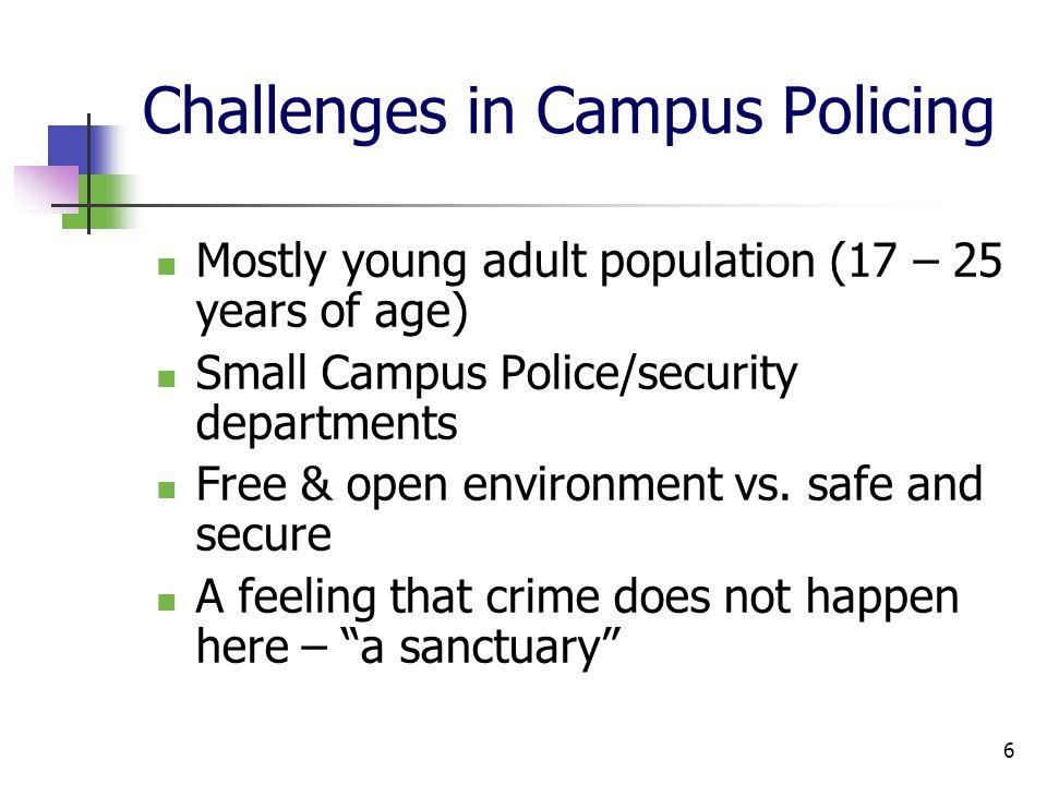Challenges – Cont… Past violent acts at U.S.
