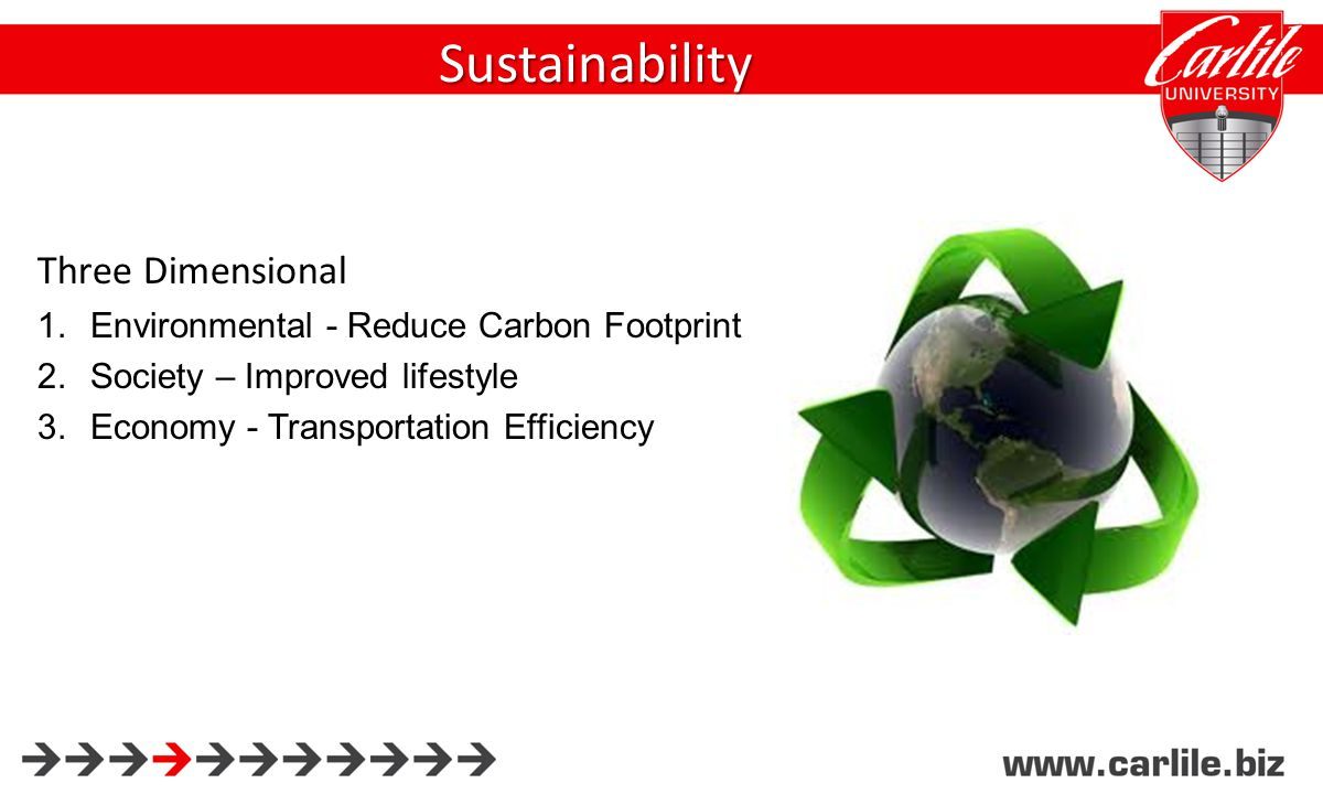 Sustainability Global Strategic Initiatives: Source Locally Long Term Relationships with Suppliers Buy larger quantities from fewer suppliers Keep Operations Lean Reverse logistics Less petroleum dependent supplies / transport lanes Alternative fuels and energy