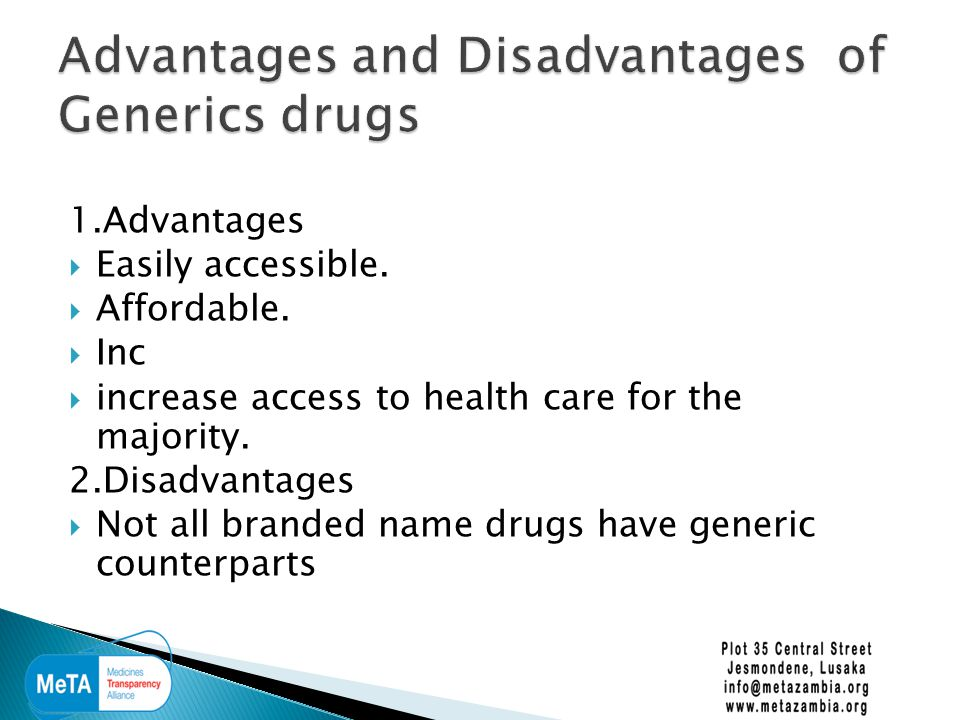  Where ;  Drug regulation and control is weak.