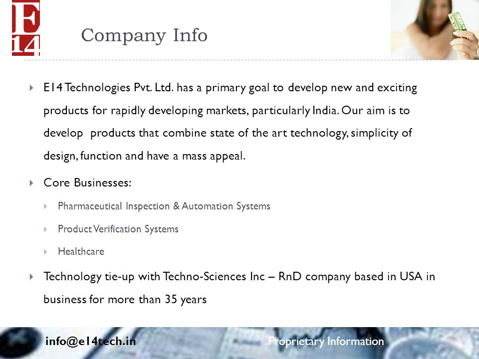 Company Info  E14 Technologies Pvt. Ltd.