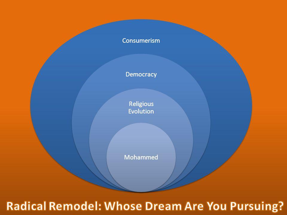 Consumerism Democracy Religious Evolution Mohammed