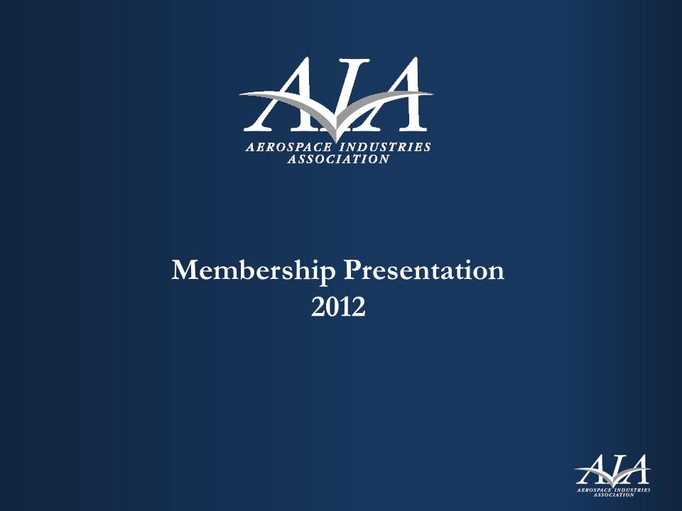 Membership Presentation 2012