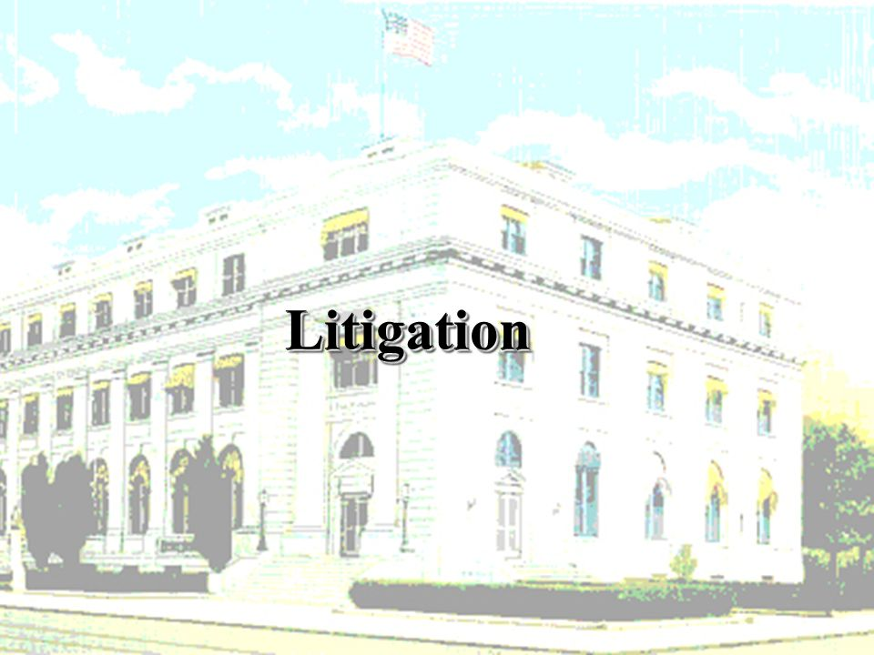 LitigationLitigation