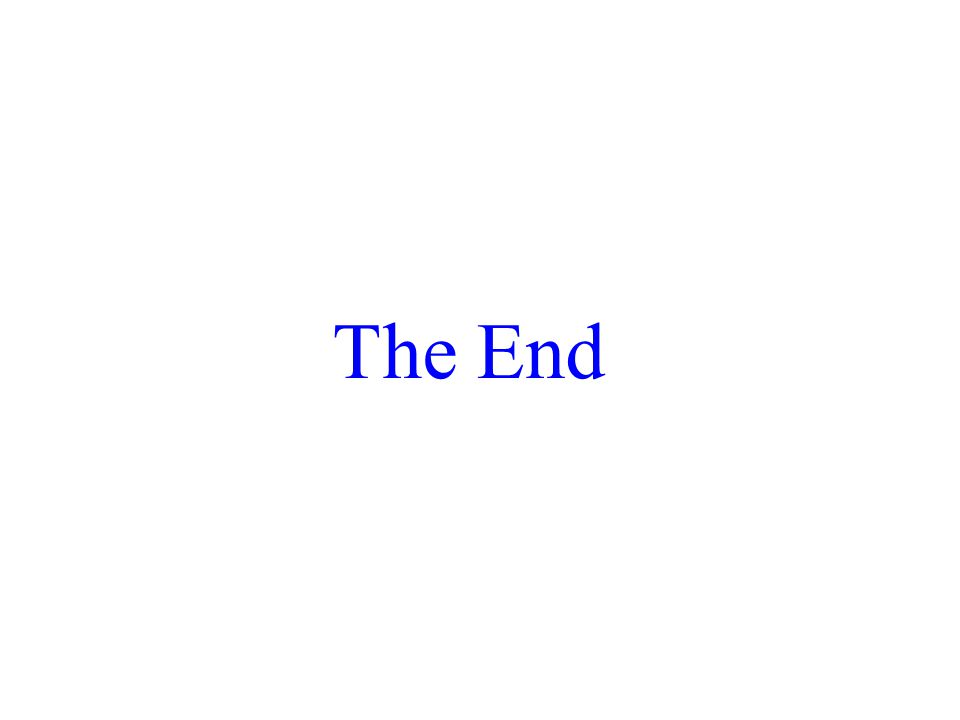 2015/4/3053 The End