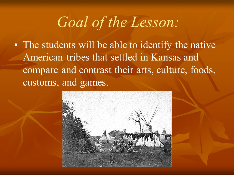 Exploring 19th Century Native Americans An interdisciplinary unit for 7 th grade Kansas History and Physical Education.