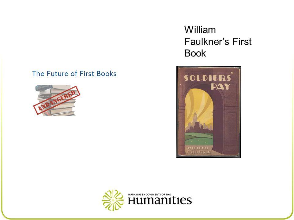 William Faulkner's First Book