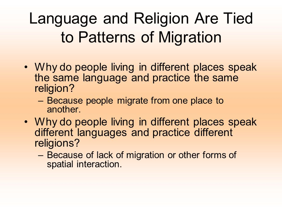 19 Languages Families –Each has its own branch Groups –Language »Dialects Indo European is the largest- Sino-Tibetan 2nd –Germanic Branch (West)- English –Romance- Spanish, Italian etc..