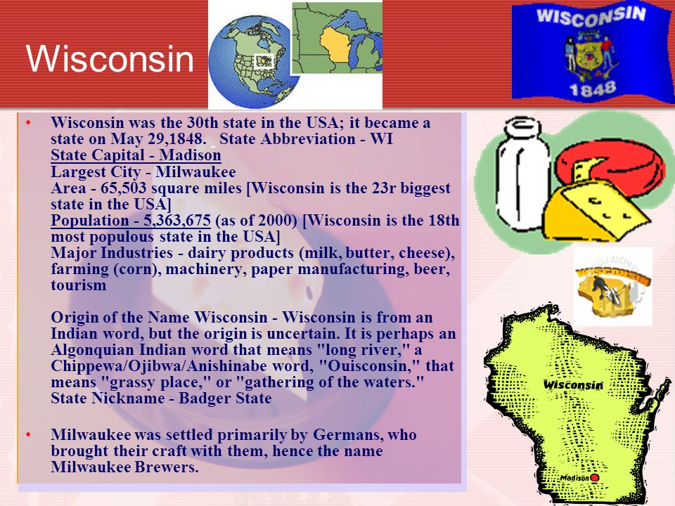 Iowa Iowa was the 29th state in the USA; it became a state on December 28, 1846.