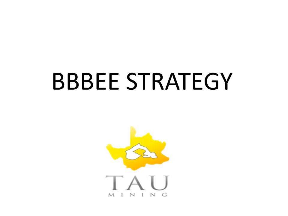 BBBEE STRATEGY