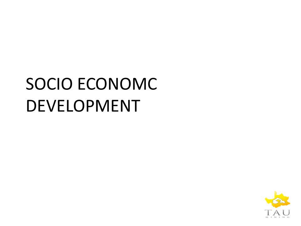 SOCIO ECONOMC DEVELOPMENT