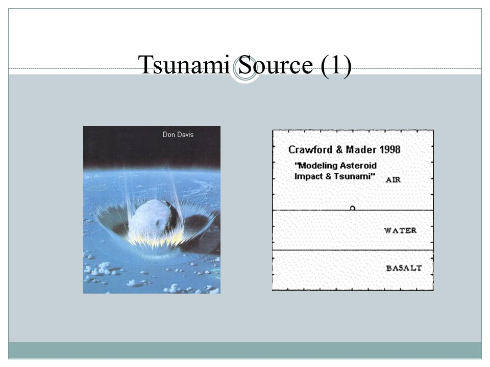 Tsunami Source (1)