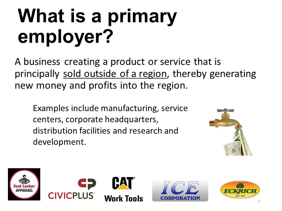 Why are Primary Jobs Important.