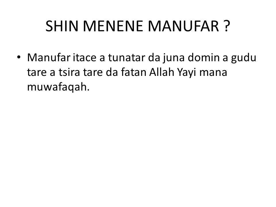 SHIN MENENE MANUFAR .