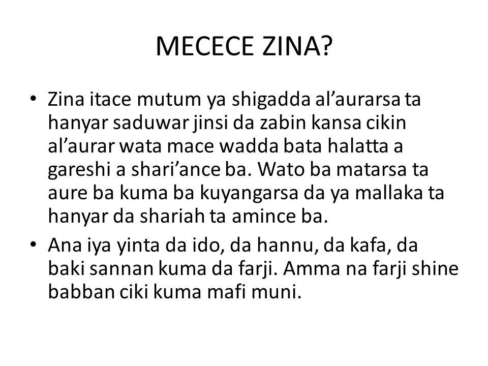 MECECE ZINA.