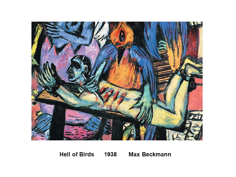 Hell of Birds 1938 Max Beckmann