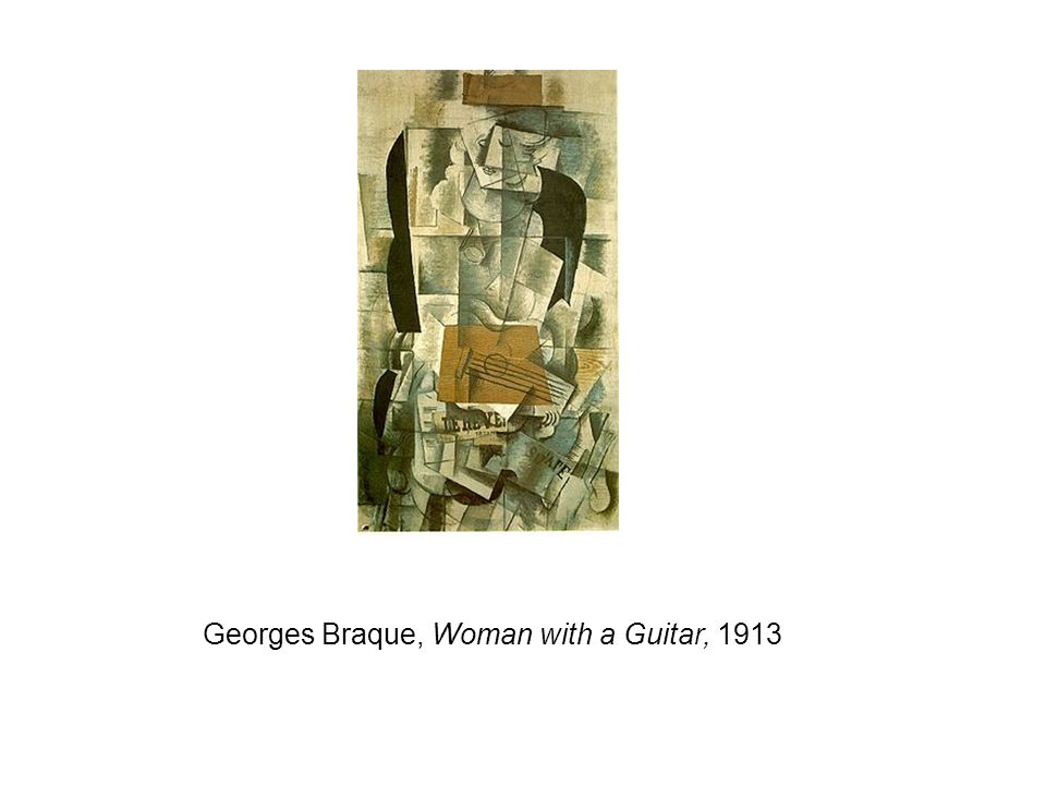 Georges Braque, Woman with a Guitar, 1913