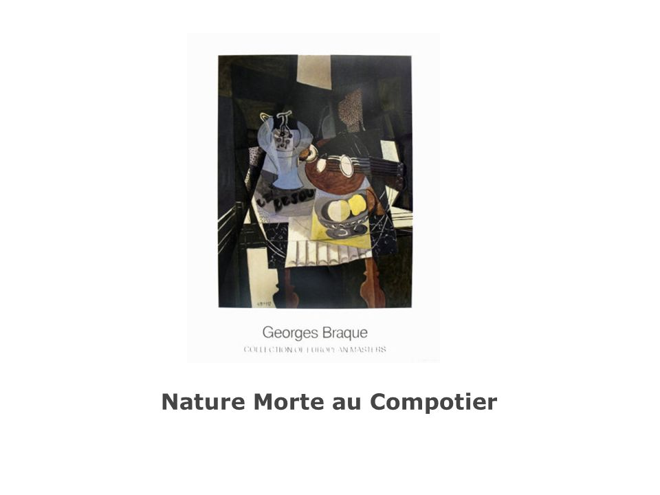 Nature Morte au Compotier