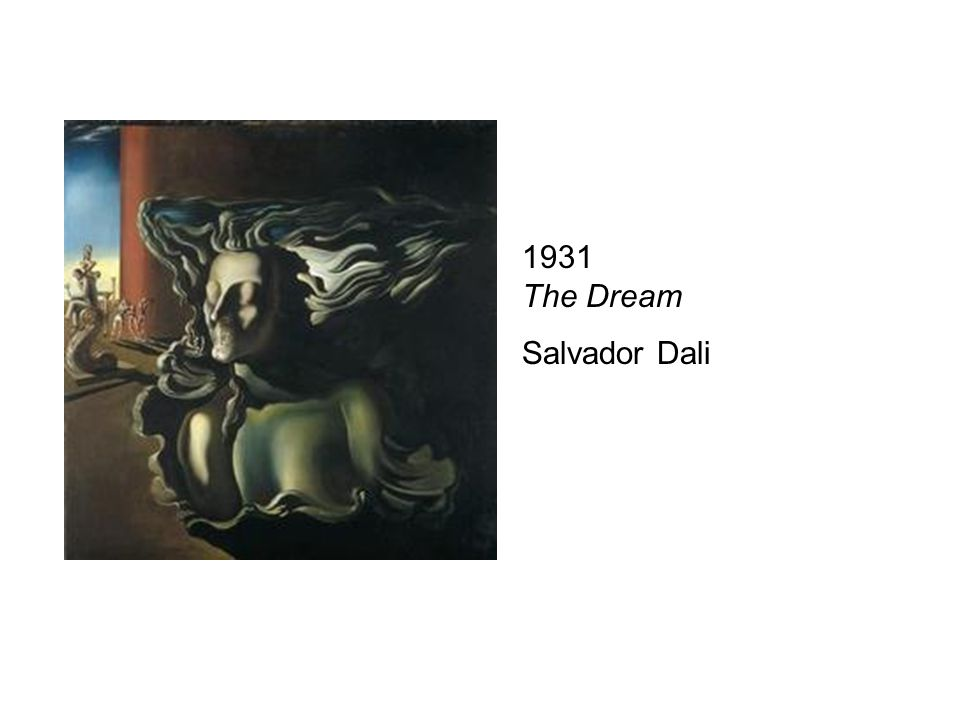 The Dream 1931 The Dream Salvador Dali