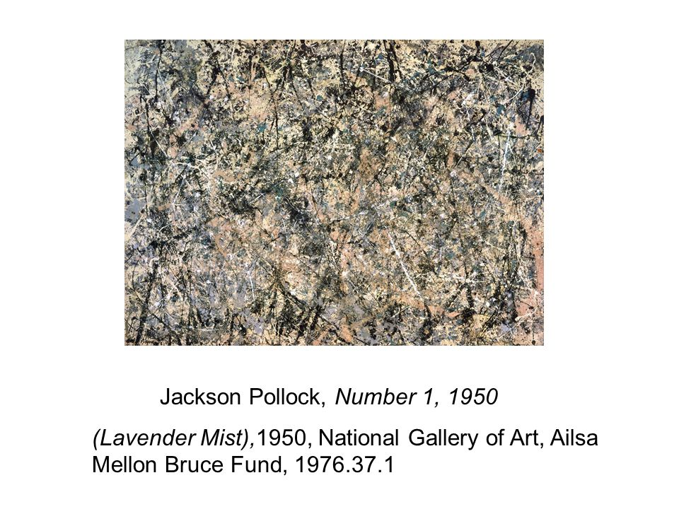 Jackson Pollock, Number 1, 1950 (Lavender Mist),1950, National Gallery of Art, Ailsa Mellon Bruce Fund, 1976.37.1