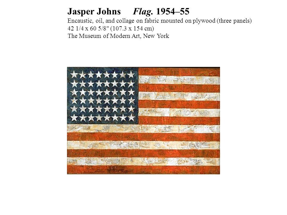 Jasper Johns Flag.