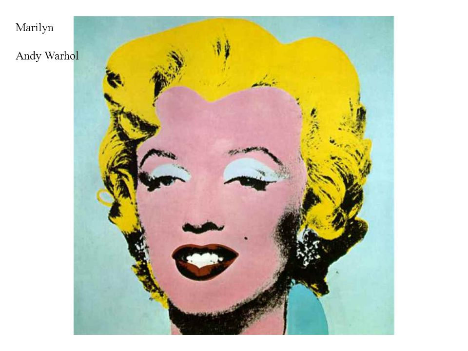 Marilyn Andy Warhol