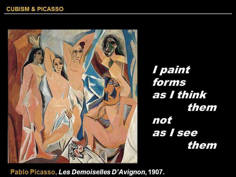 CUBISM & PICASSO African Zimba MaskLes Demoiselles d'Avignon, 1907. Major Influences…