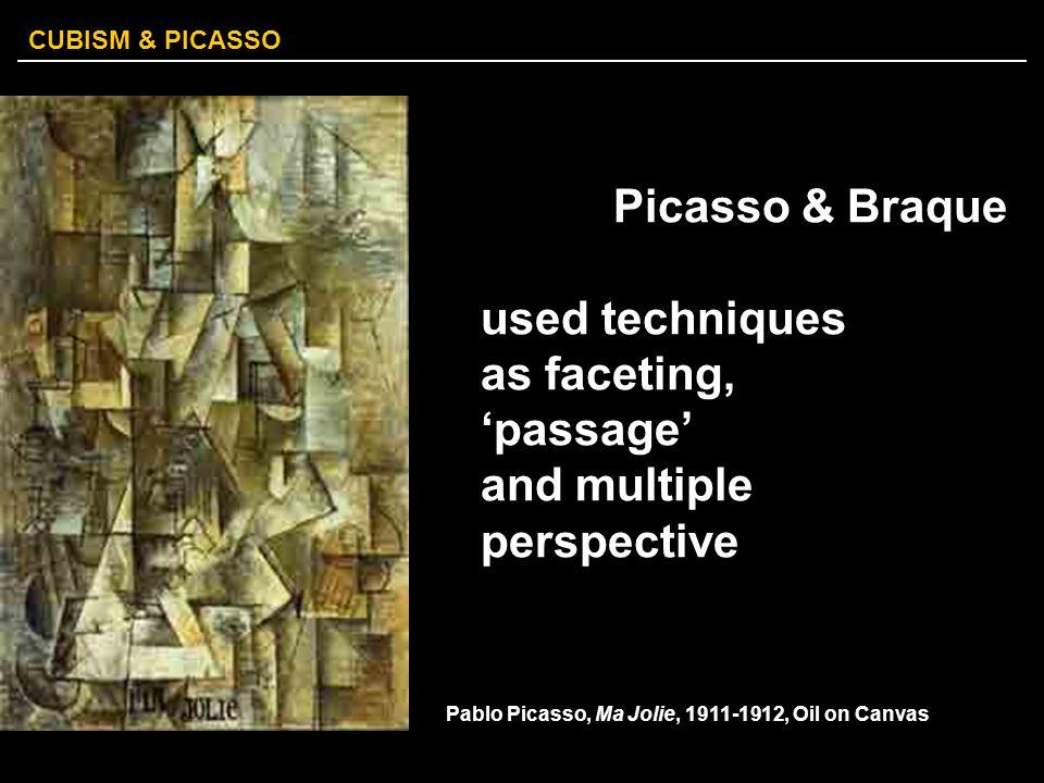 CUBISM & PICASSO Pablo Picasso, Three Musicians, 1921.