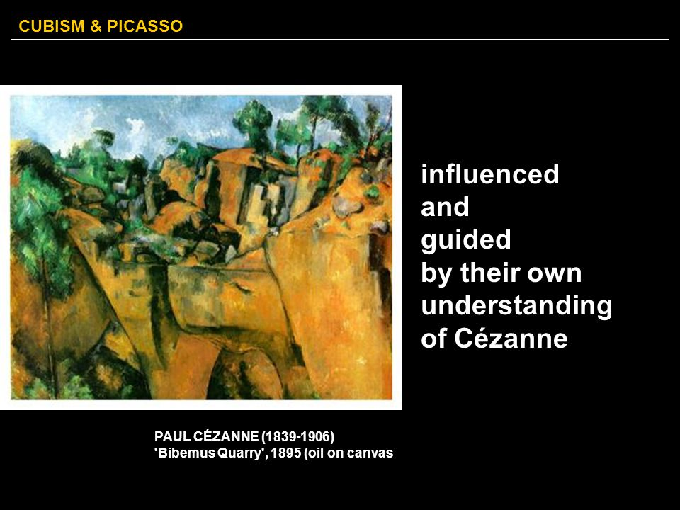 CUBISM & PICASSO Their favorite motifs were still lifes with musical instruments, bottles, pitchers, glasses, newspapers, playing cards and the human face.