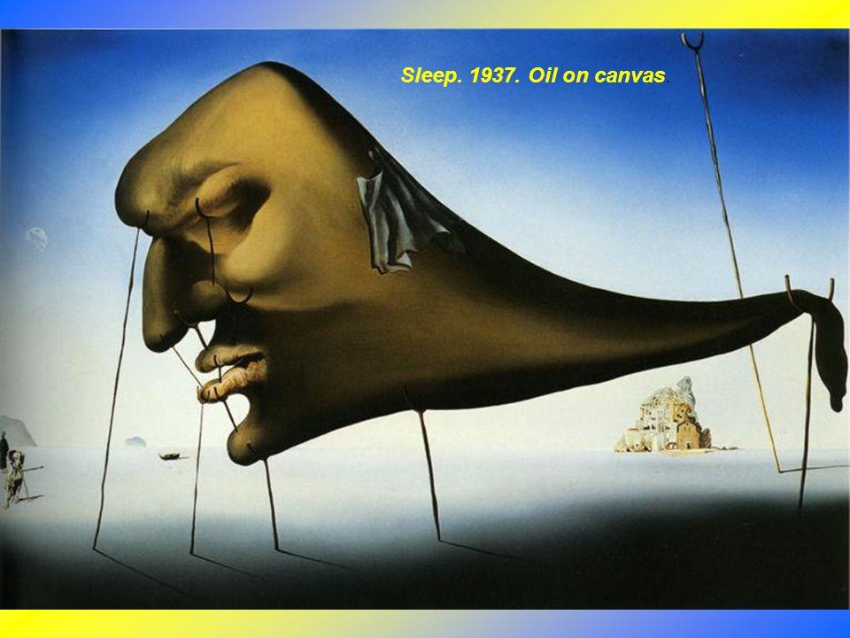 Sleep. 1937. Oil on canvas.