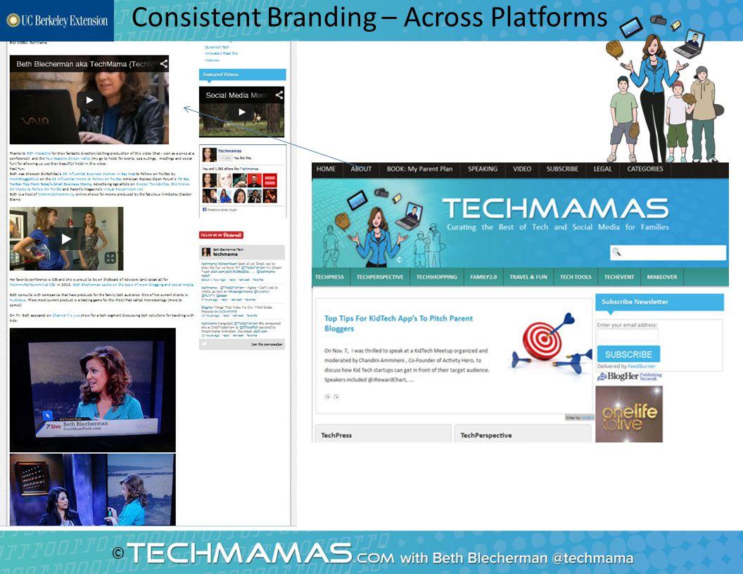 © Consistent Branding – Across Platforms