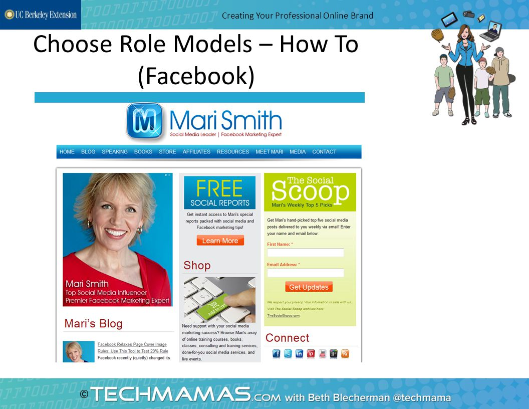 © Choose Role Models – How To (Facebook) Creating Your Professional Online Brand