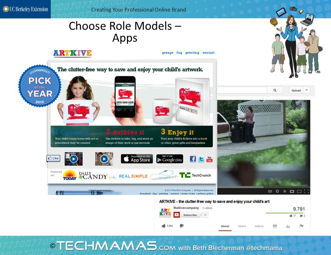 © Choose Role Models – Apps Creating Your Professional Online Brand