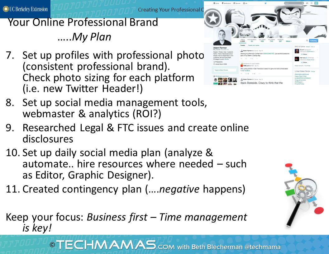 © Choose Role Models - Entrepreneurs Creating Your Professional Online Brand