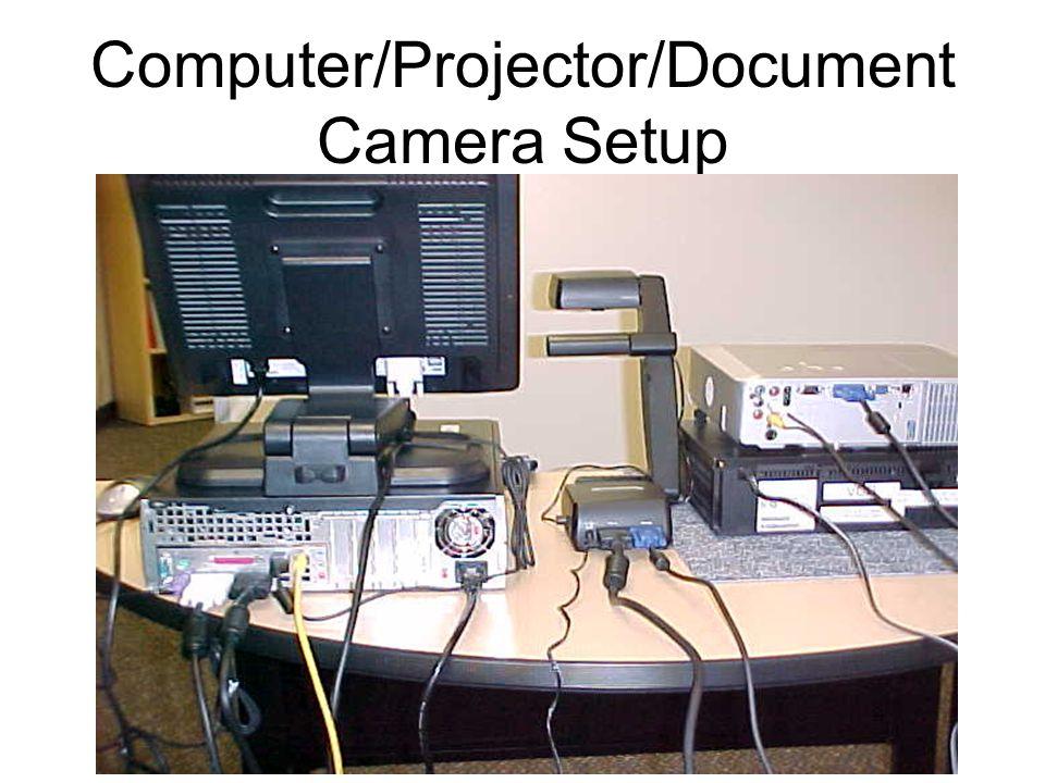 Computer/Projector/Document Camera Setup