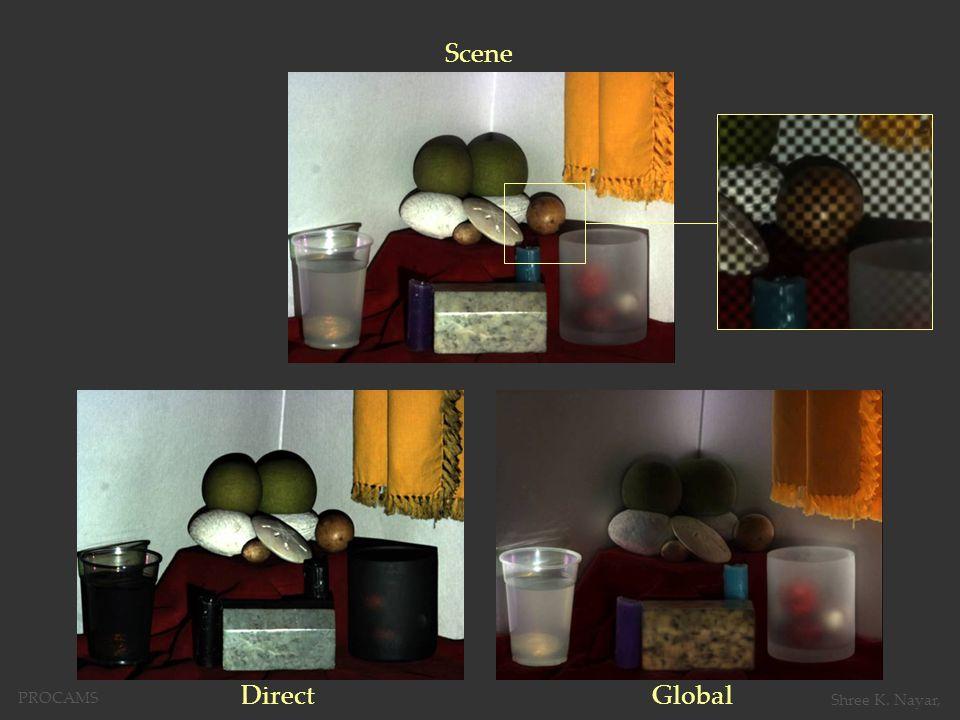 Scene DirectGlobal PROCAMS Shree K. Nayar,