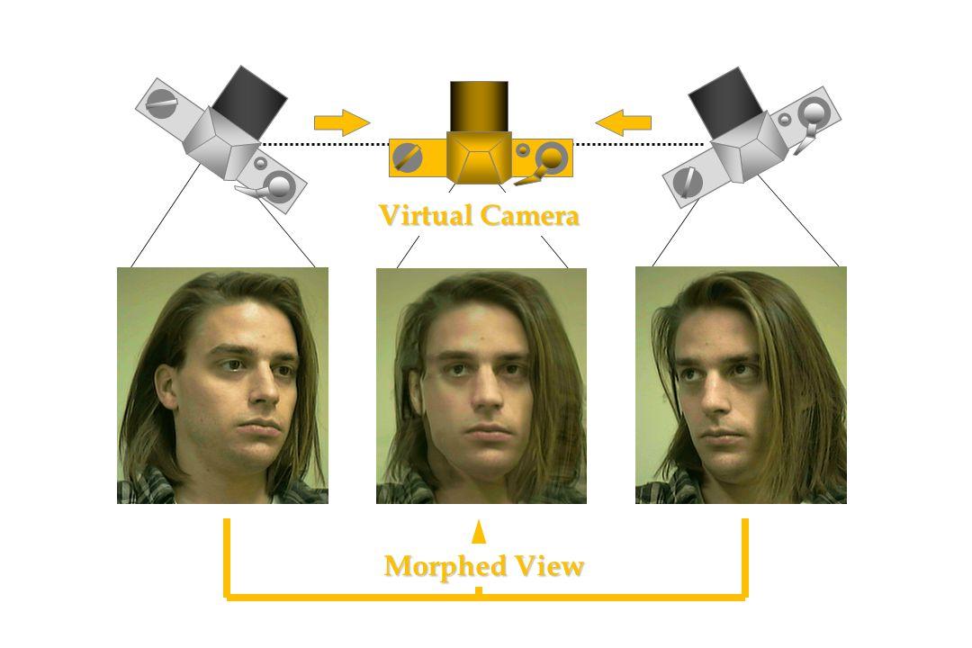 Morphed View Virtual Camera